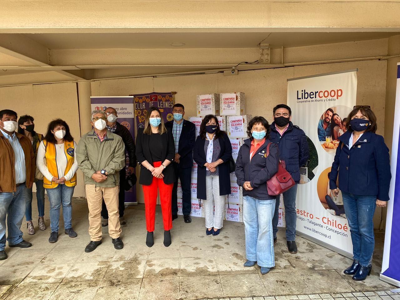 Lanzamiento de la campaña solidaria de Cooperativas del Sur en Castro